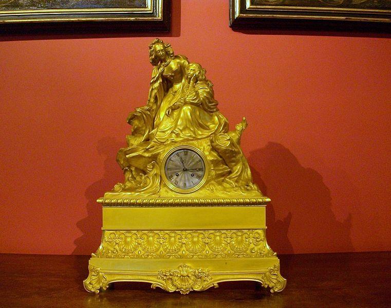 File:Rellotge a la sala dels Reis, palau de la Generalitat Valenciana.JPG