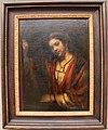 Rembrandt, ragazza davanti a una porta aperta, forse hendrickje stoffels, 1656-57 ca.JPG