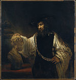 Rembrandt - Aristotle with a Bust of Homer - Google Art Project.jpg