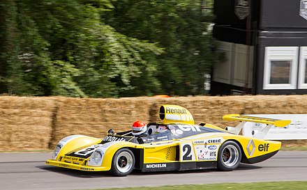The Renault Alpine A442, 1978 Le Mans 24 Hours winner, at the 2014 Goodwood festival of speed Renault Alpine A442B at Goodwood 2014 004.jpg