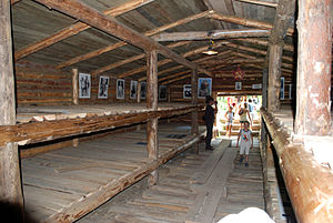 Sybirak - 240-year-old Siberian house moved to Poland