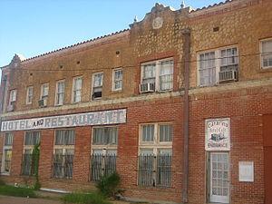 Catarina, Texas - The abandoned Catarina Hotel and Restaurant