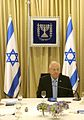 Reuven Rivlin opened the consultations after the 2015 elections with the Likud Party (1) (cropped).jpg