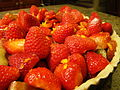 Rhubarbed Strawberry Daiquiri Vegan Tart Before Baking (4922168157).jpg