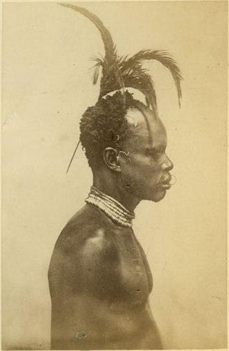 Avukaya people - Avokaya late 1870s