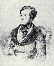 Wagner c. 1840, by Ernest Benedikt Kietz (Source: Wikimedia)