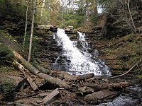 Ricketts Glen State Park F.L. Ricketts Falls 6.jpg
