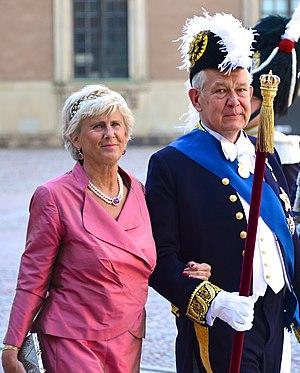 Svante Lindqvist - Image: Riksmarskalken Svante Lindqvist med hustrun Catharina