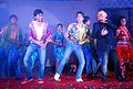 Riteish Deshmukh, Tusshar Kapoor, Daler Mehndi at the Audio release of 'Kyaa Super Kool Hain Hum' 11.jpg