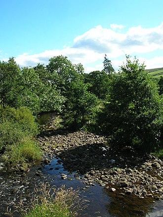 River Nidd - Image: River Nidd geograph.org.uk 225547