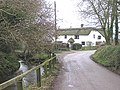 River Tale and cottages, Broadhembury - geograph.org.uk - 104882.jpg