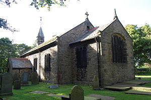 Listed buildings in Rivington - Image: Rivington Church