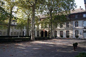 Rixheim - The commandery in Rixheim