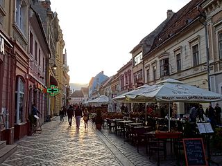Brașov City in Romania