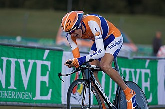 Robert Gesink - Gesink at the 2009 Vuelta a Espana