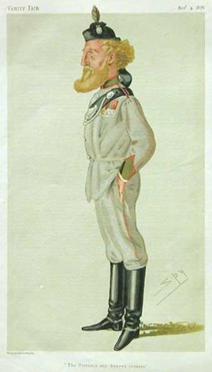 Robert Loyd-Lindsay, 1st Baron Wantage - As portrayed in  Vanity Fair (1876)