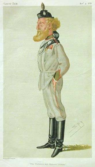 Robert Loyd-Lindsay, 1st Baron Wantage - As portrayed in  Vanity Fair (1876)
