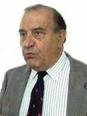 Chief Minister of Gibraltar - Sir Robert Peliza