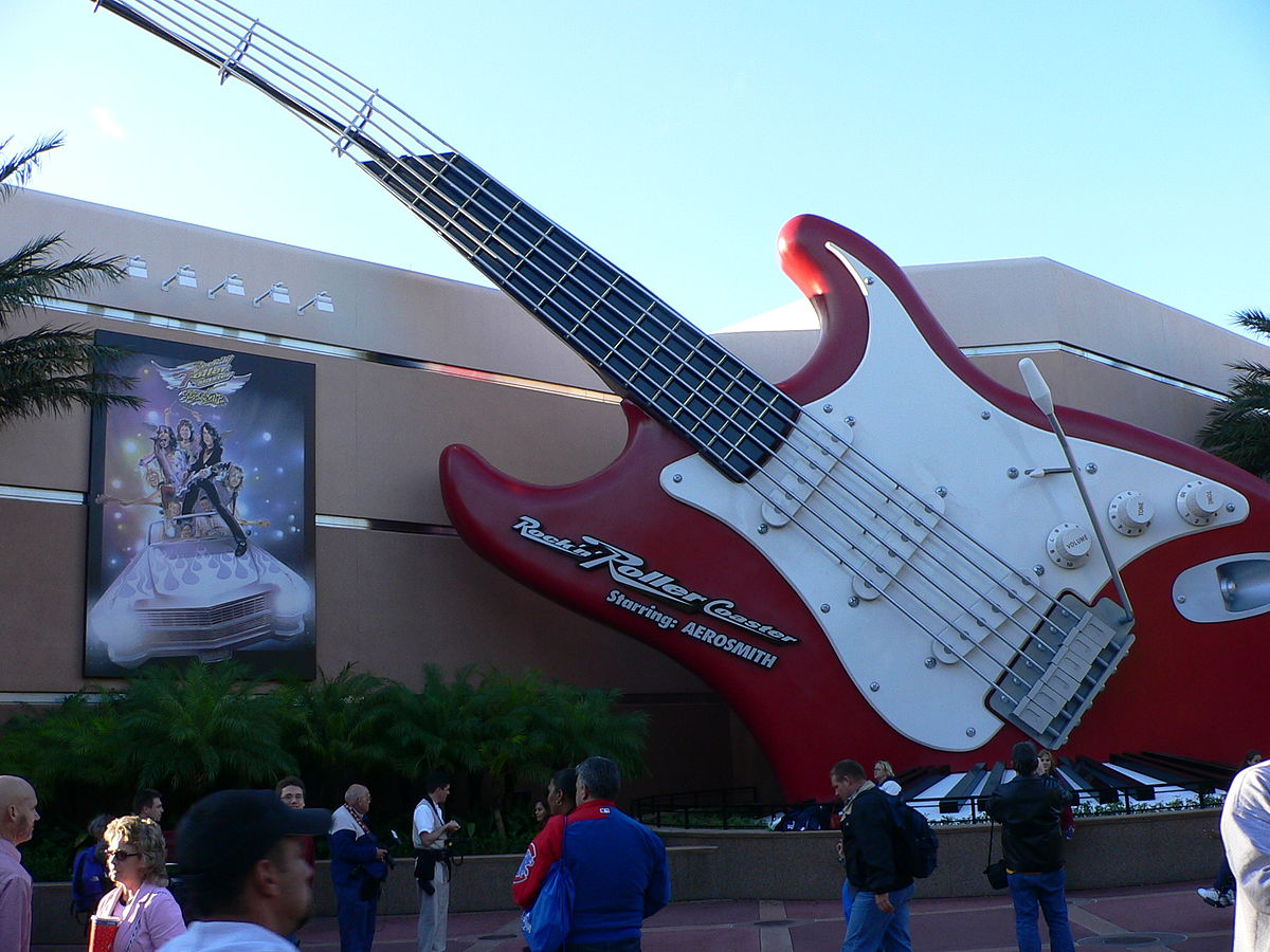Rock N Roller Coaster Starring Aerosmith Wikipedia
