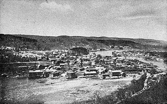 Rockingham, Vermont - Bellows Falls Village, Rockingham, 1915