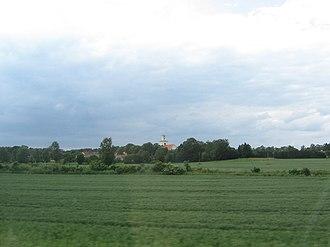 Rockneby - Image: Rockneby, Kalmar, från E22