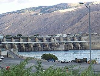 Rocky Reach Dam - Image: Rocky Reach Dam