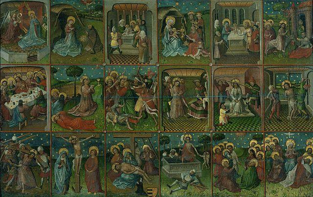«Страсти Христовы», анонимный художник XVв., Нидерланды