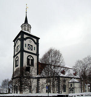 Church in Trøndelag, Norway