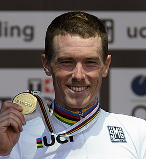 Rohan Dennis Australian racing cyclist