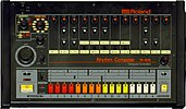 Front panel of the TR-808