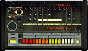 Roland TR-808 - TR-808 front panel