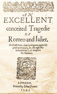 Romeo E Giulietta Wikiquote