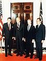 Ronald Reagan, Gerald Ford, Jimmy Carter, and Richard Nixon.jpg