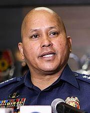 Ronald dela Rosa, agente di Polizia della città di Davao promosso a capo del PNP, tra le figure principali del governo Duterte