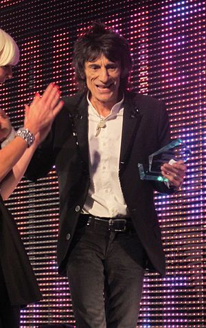 "Ron Wood wins an Arqiva Radio Award on July 6th, 2011 for his radio programme ""The Ronnie Wood Show""."