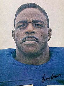 Description de l'image Rosey Brown - New York Giants - 1965.jpg.
