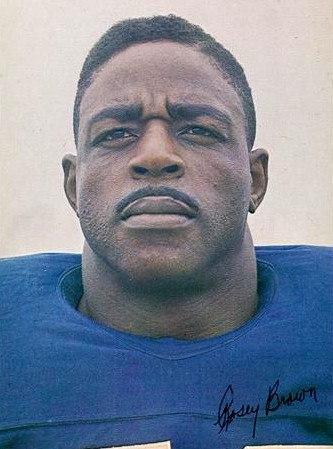 Rosey Brown - New York Giants - 1965