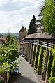 Rothenburg ob der Tauber, Stadtmauer, Henkersturm bis Kummereck, 001.jpg
