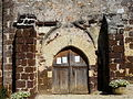 Rouffignac-Saint-Cernin église St Cernin portail.JPG