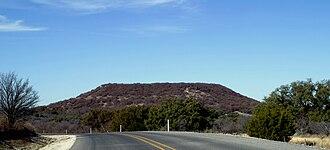 Robert T. Hill - Image: Round Mountain 2008