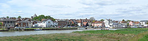 Rowhedge - Image: Rowhedge Essex UK View from River Bank Opposite in Wivenhoe