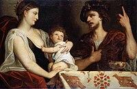Roxana with Alexander IV Aegus the son of Alexander the Great.jpg