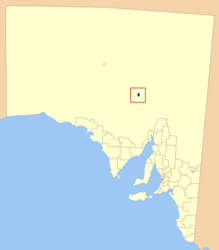 Municipalità di Roxby Downs – Mappa