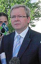 Kevin Rudd in November 2005