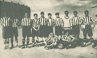 Real Valladolid - Real Unión Deportiva de Valladolid in 1927