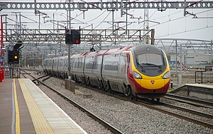 Warwickshire - The WCML at Rugby