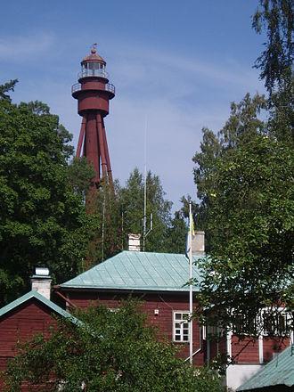 Ruhnu - Ruhnu Lighthouse designed by Gustave Eiffel