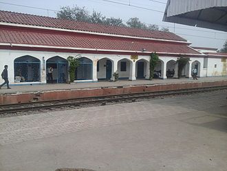 Kanpur Dehat district - Rura Railway Station