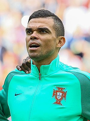 Pepe (footballer, born 1983) - Pepe during the 2017 FIFA Confederations Cup in Russia