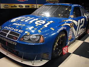 Ryan Newman - Newman's 2008 Daytona 500 car, on display at the Daytona 500 Experience